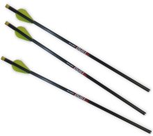 """Excalibur Quill Carbon Crossbow Bolts 16.5"""", 3/Pack with Lumenok Lighted Nocks"""