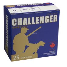 Challenger 12 Gauge 2 3/4 7.5 25 Round