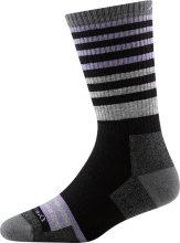 Darn Tough Women's Gatewood Boot Midweight Hiking Socks Full Cushion Large (Women's 10-11.5) Black