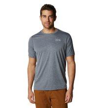 Mountain Hardwear Men's Wicked Tech™ Short Sleeve T-Shirt Small Heather Graphite
