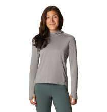 Mountain Hardwear Women's Crater Lake™ Long Sleeve Active Hoody Large Manta Grey Heather