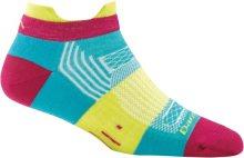 Darn Tough Women's Pulse No Show Tab Lightweight Lifestyle Socks No Cushion Small (Women's 4.5-7) Teal