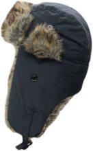 Dakota Black Cotton Insulated Hat