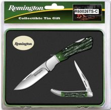 Buck Knives Remington Special Edition 2 Knife Gift Set in Tin