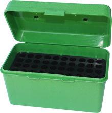 MTM Case-Gard Ammo Box H-50 Deluxe Case Small Green