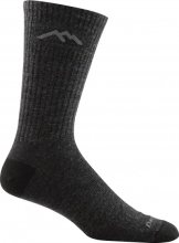 Darn Tough Men's The Standard Mid-Calf Lightweight Lifestyle Socks Cushion Large (Men's 10-12) Charcoal