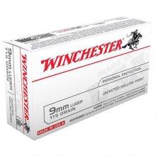 Winchester 9mm Luger 115 Grain  JHP USA