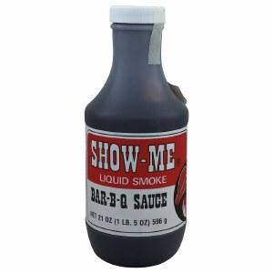Show Me BBQ sauce 21oz