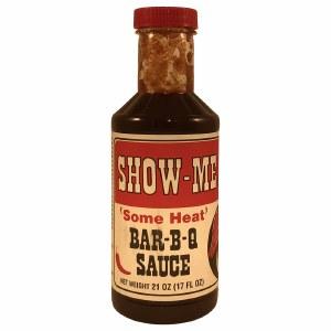 Show Me BBQ Sauce Some Heat 21oz