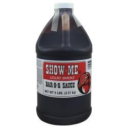 Show Me BBQ sauce 1/2 gallon