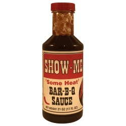 Show Me BBQ Sauce Some Heat 21oz
