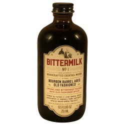 Bittermilk Boubon Barrel Aged Old Fashioned Mix