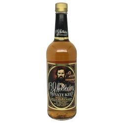 B.J. Holladay Private Keep Sour Mash Straight Bourbon Whiskey 1999 Bottling