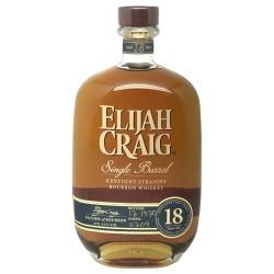 Elijah Craig Single Barrel 18 year old 2021 release s209