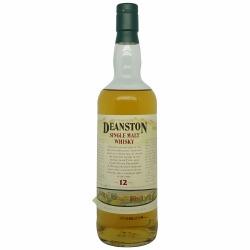 Deanston 12 Year Old Single Malt (old label, low fill) 1990s Bottling