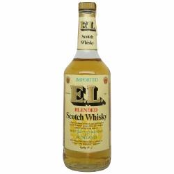 E.L. Blended Scotch Whiskey Extra Light 1981 Bottling