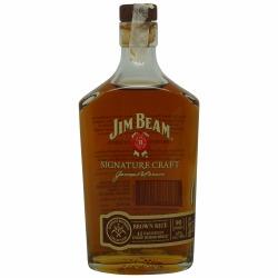 Jim Beam Signature Craft Brown Rice Kentucky Straight Bourbon 2014 Bottling