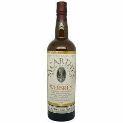 McCarthy's Oregon Single Malt Whiskey Batch W13-02 2013 Bottling