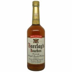 Barclay's Straight Kentucky Bourbon 1996 Bottling