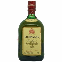 Buchanan's Deluxe 12 Year Old Finest Blended Scotch