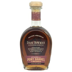 Isaac Bowman Port Cask Finish Bourbon
