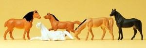 HO Scale Horses - 14150