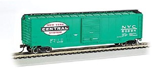 HO Scale New York Central 50' Sliding-Door Boxcar - 19402