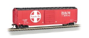 HO Scale Sante Fe 50' Sliding-Door Boxcar - 19406