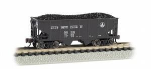 N Scale USRA 55 Ton 2 Bay Hopper Baltimore & Ohio - 19553