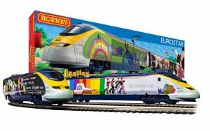 OO Scale The Beatles 'Yellow Submarine' Eurostar Train Set DCC Ready - R1253M
