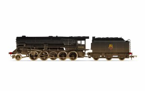 OO Scale BR (Heavily Weathered) Crosti Boiler 9F Class 2-10-0 92028 DCC Ready - R3756