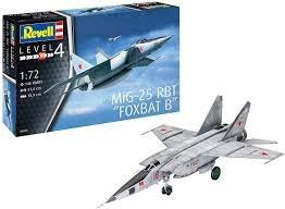 "1:72 Scale MiG-25 RBT ""Foxbat B"" - 03878"