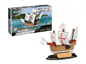 1:350 Scale Santa Maria Christopher Columbus' Flagship Easy-Click System - 05660