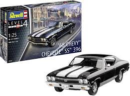 1:25 Scale 1968 Chevy Chevelle - 07662