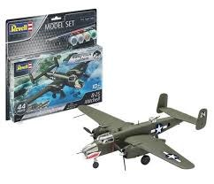 1:72 Scale B-25 Mitchell Easy Click System Model Set - 63650