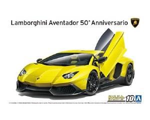 1:24 Scale '13 Lamborghini Aventador 50th Anniversary - A005982