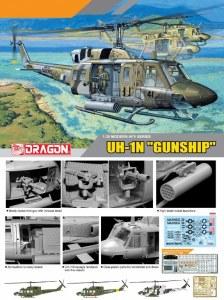 """1:35 Scale UH-1N """"Gunship"""" - 3540"""