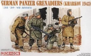 1:35 Scale German Panzer Grenadiers (Kharkov 1943) - 6059
