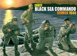 1:35 Scale Soviet Black Sea Commando Crimea 1944 - 6457