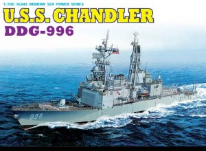 1:700 Scale U.S.S. Chandler DDG-996 - 7026