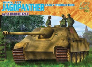 1:72 Scale Sd.Kfz.173 Jagdpanther Early Production w/Zimmerit - 7241