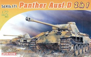 1:72 Scale Sd.Kfz.171 Panther Ausf. D Early/Late 2 in 1 - 7547