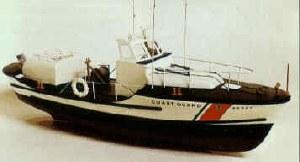 U.S. Coast Guard Lifeboat Wooden Kit - 1023