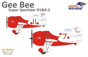 1:144 Scale Gee Bee Super Sporster R1 & R2 - DW14402