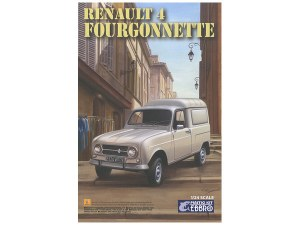1:24 Scale Renault 4 Fourgonnette - 25003