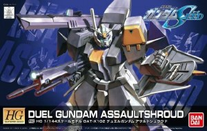 Duel Gundam Assaultshroud HG - 5060359