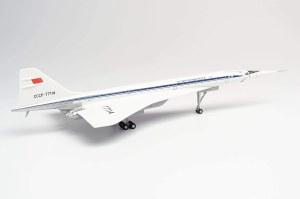 "1:200 Scale Aeroflot Tupolev TU-144D ""CCCP-77114"" - HE570633"