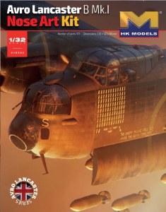 1:32 Scale Avro Lancaster B Mk.I Nose Art Kit - 01E033