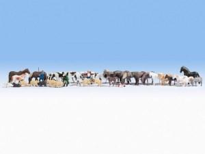 """HO Scale Mega Economy Set """"Animals"""" - 16049"""