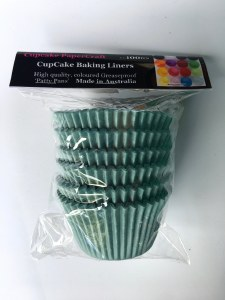 Baking Liners Baby Blue Pk100